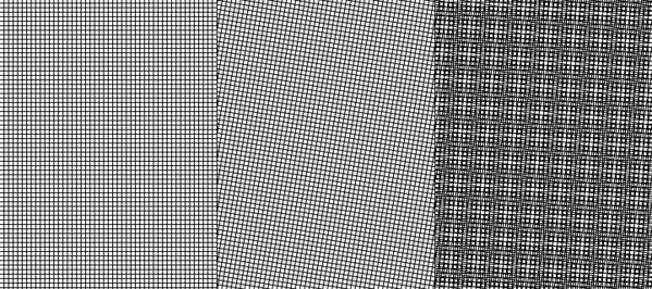 moire pattern example