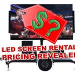 led screen rental price